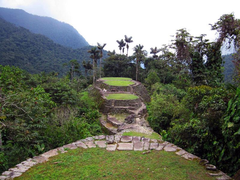Las 7 maravillas de colombia for Terrazas tayrona