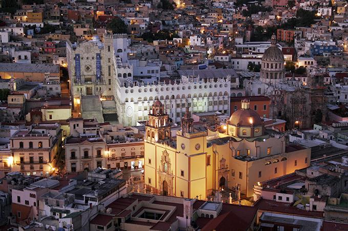 Ciudad hitórica de guanajuato, Patrimonio de la Humanidad en México