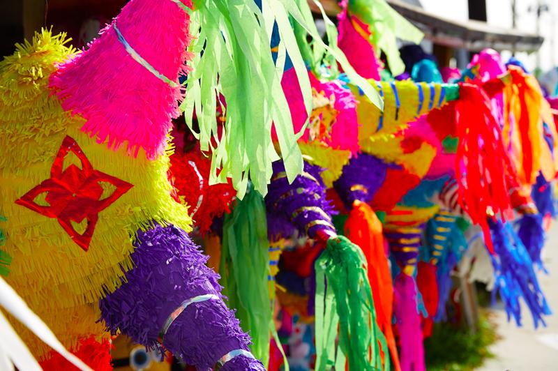 Piñata tradicional mexicana navidad