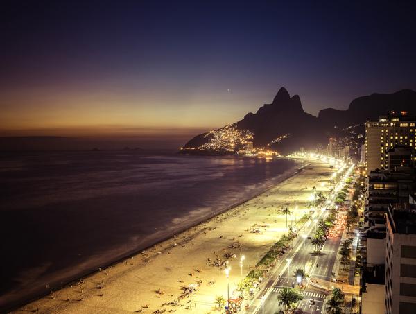 Rio de Janeiro a noite