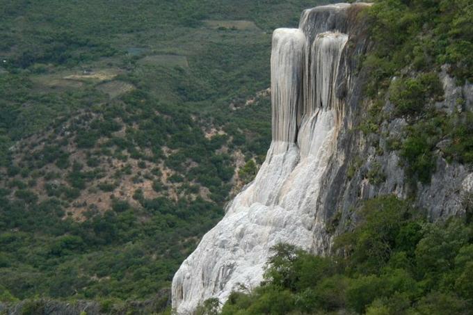 cascadas petrificadas, mexico cascadas petrificadas, oaxaca, mexico oaxaca