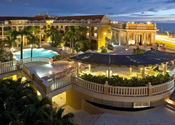 5 hoteles de lujo en el caribe colombiano for Imagenes de hoteles de lujo