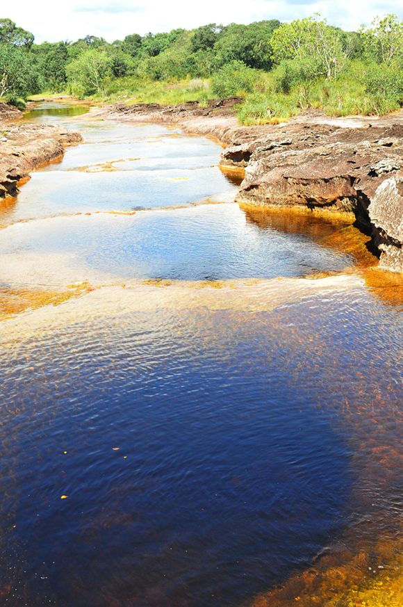 Pozos naturales en el Guaviare